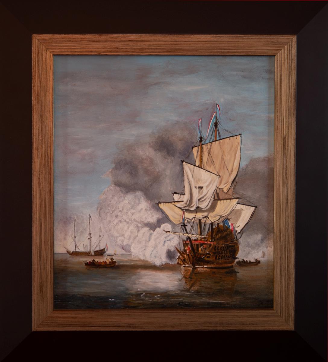 Het Kanonschot 1633-1707 van Willem van de Velde II (2014)