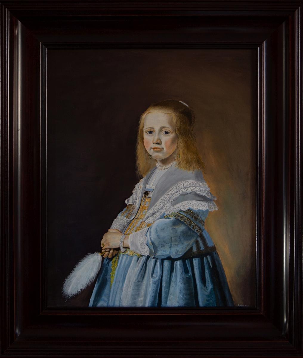 Het meisje in het Blauw 1641 van Johannes Cornelisz Verspronck (2014)