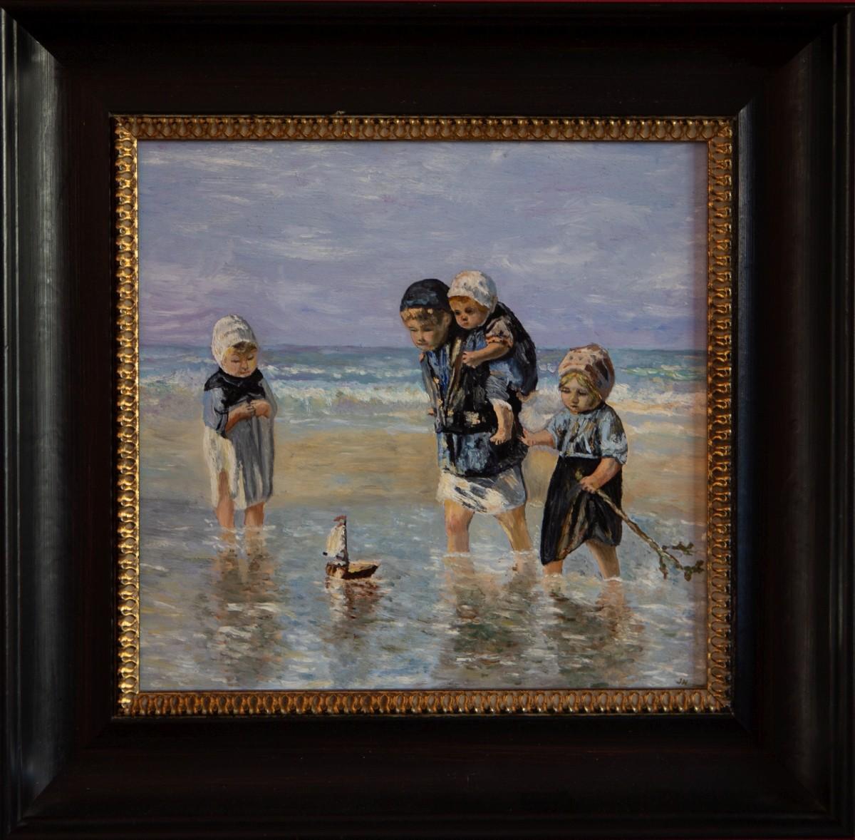 Kinderen der Zee 1872 van Josef Israëls (2014)