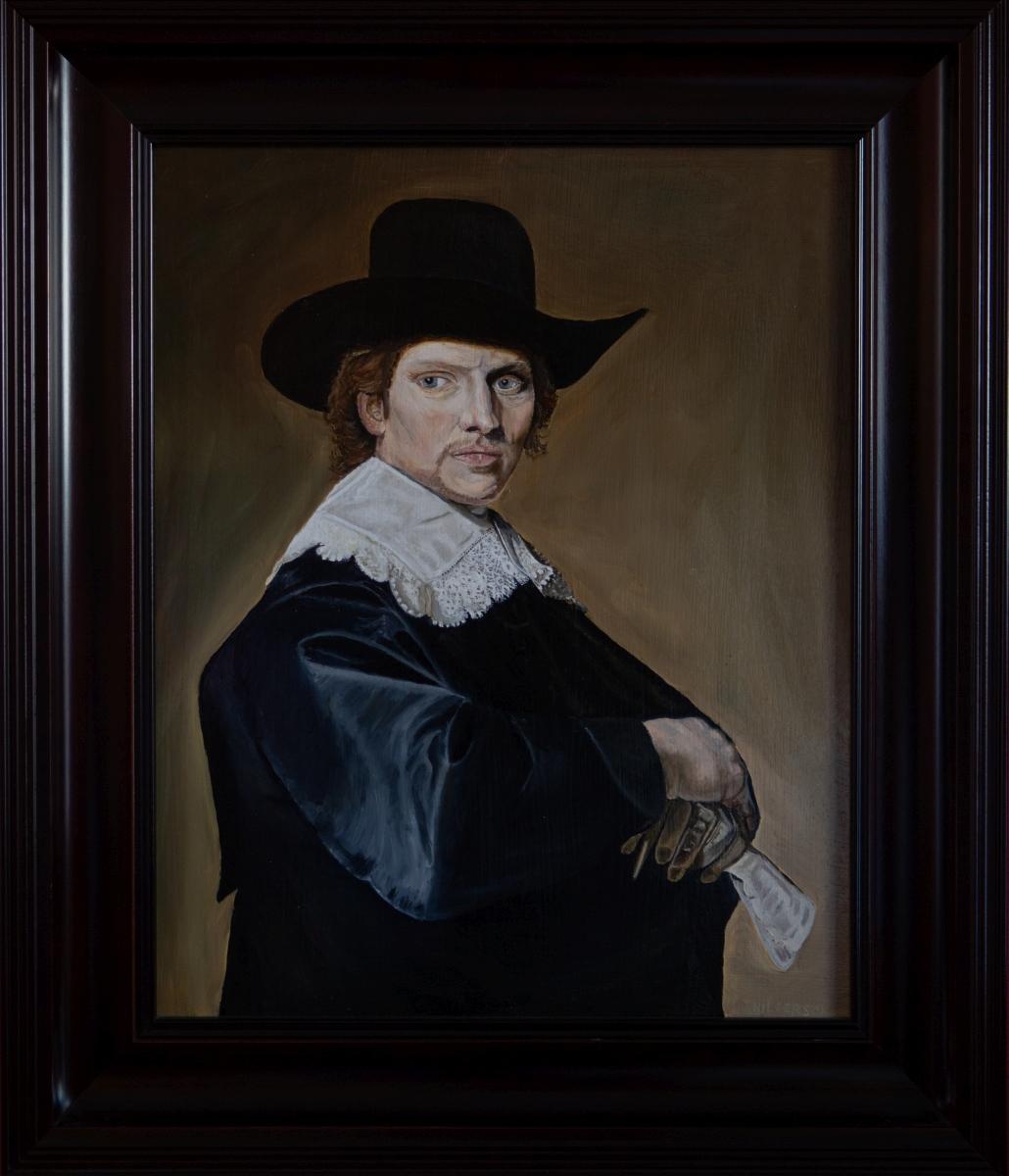 Portret van een man van Johannes Cornelisz Verspronck (2014)