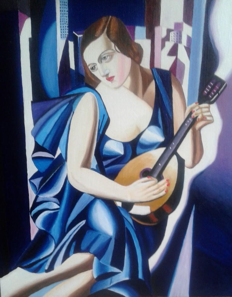 The Musician van Tamara de Lempika (2016)